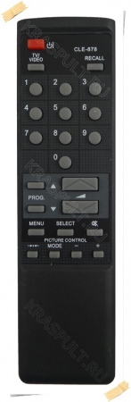 пульт hitachi cle-878a Hitachi для телевизоров