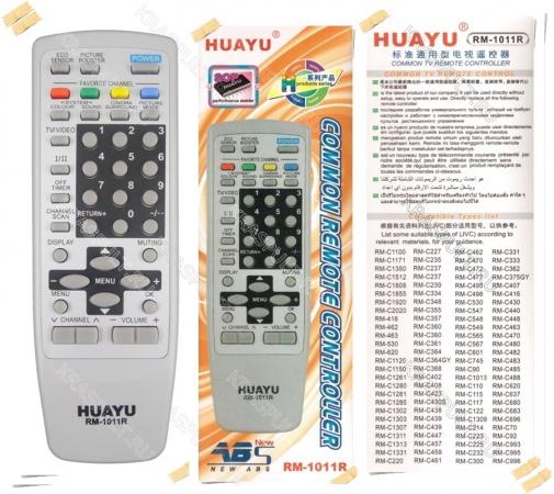 пульт универсальный jvc huayu rm-1011r Jvc универсальные по производителям - huayu