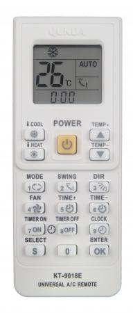 универсальный пульт для сплит системы инструкция кт-9018е - фото 5
