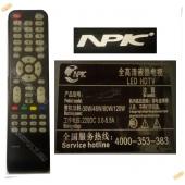 Пульт NPIC XYR-08, LED HDTV