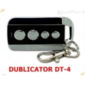 DUBLICATOR DT-4 заменяет пульты DOORHAN TRANSMITTER 4