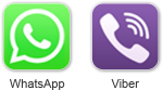 WhatsApp Viber 50